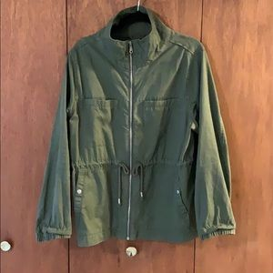 Green Old Navy Utility Jacket!